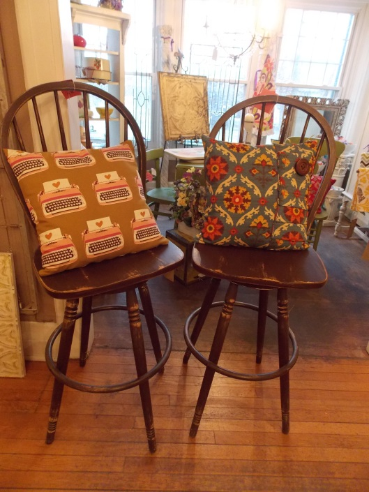 Espresso bar stools....Were $105 each now only $75 each